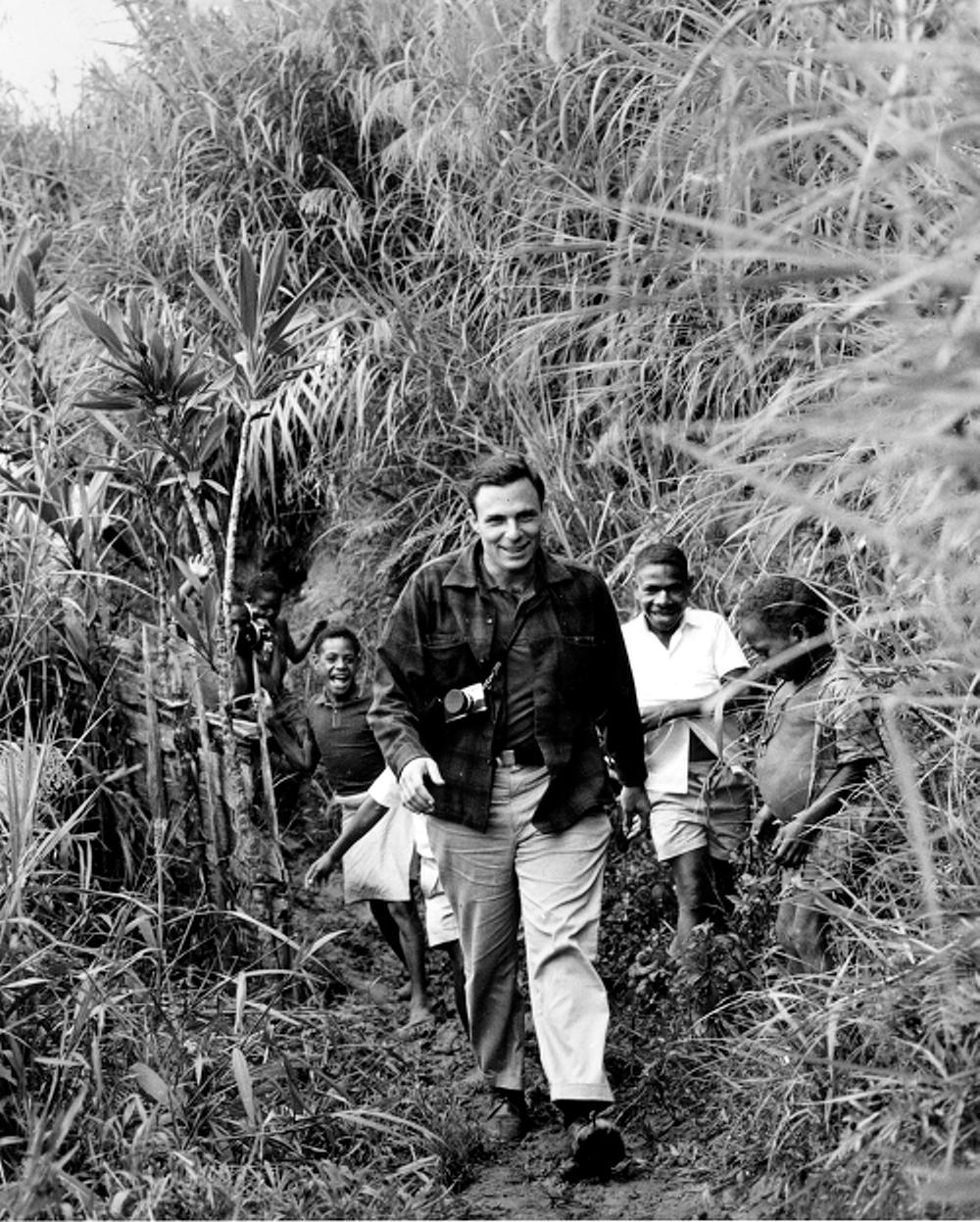 Paul Ekman in Papua New Guinea