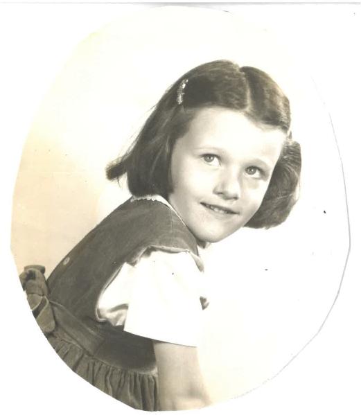 Phoebe at age 5