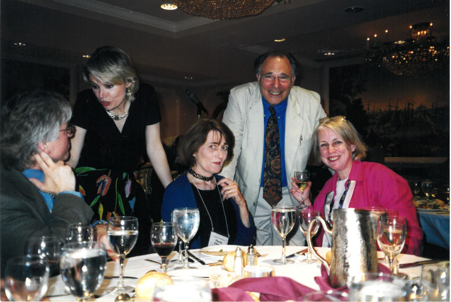 Phoebe with Paul Ekman and others, when Ekman was awarded the APA Distinguished Scientist Award.png